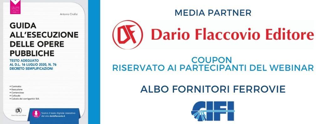 Dario Flaccovio - coupon riservato ai partecipanti del webinar CIFI