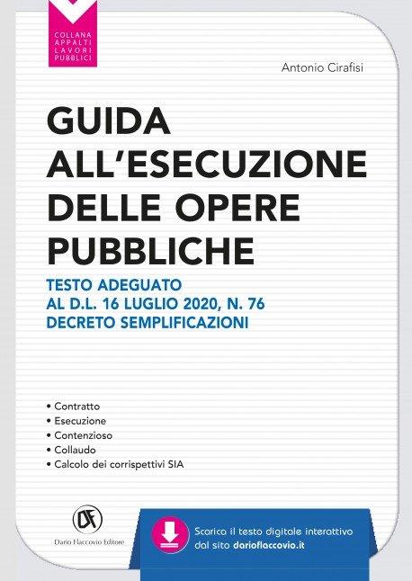 Libro Guida all'esecuzione delle opere pubbliche - Cirafisi