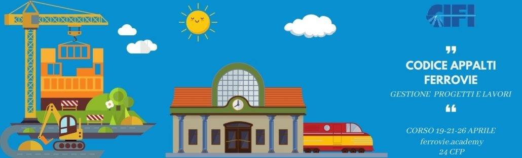 corso codice appalti nelle ferrovie CIFI - ferrovie.academy