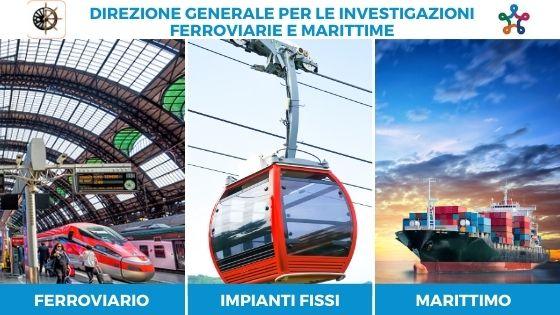 DIGIFEMA: investigazioni ferrovie - impianti fissi e trasporto marittimo